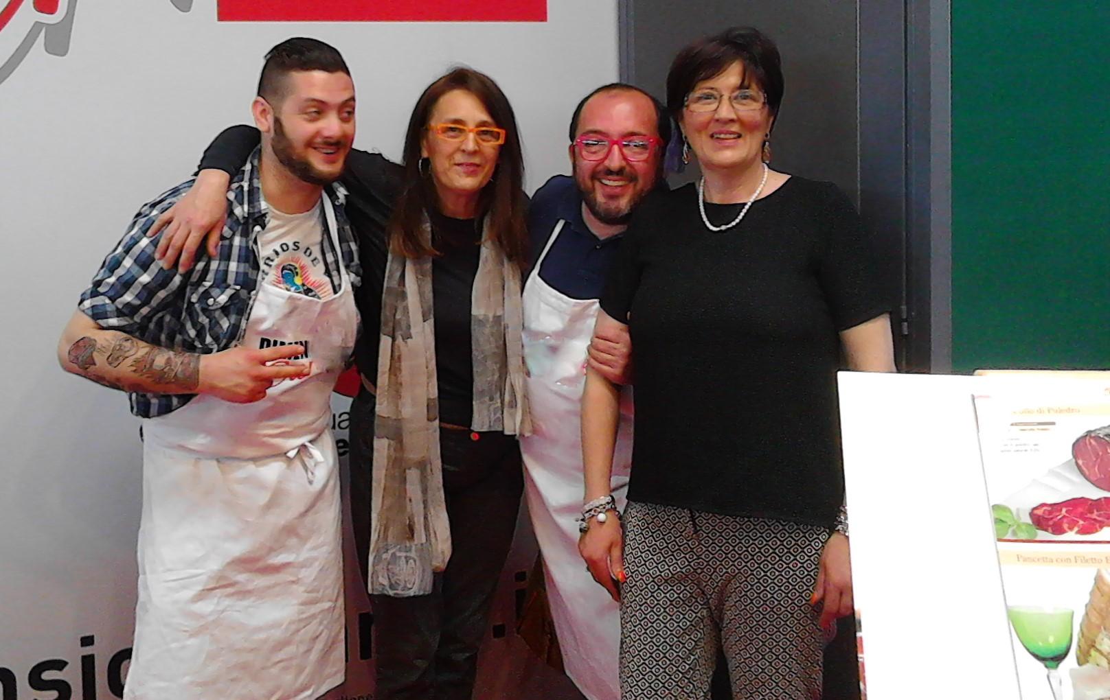 Fiera Verona 2015 con il Conte di Master Chef