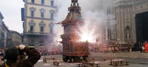 Pasqua a Firenze, scoppio del carro