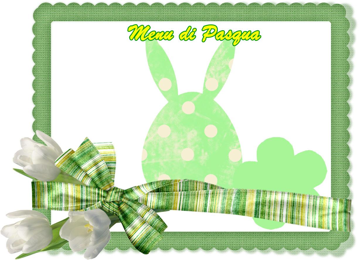 immagine per i menù di Pasqua