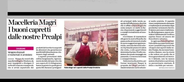 Articolo Mediaset