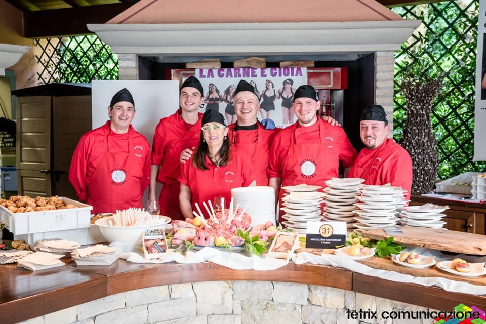 Macelleria Magri allo Street Food 2016 ristorante Da Vittorio
